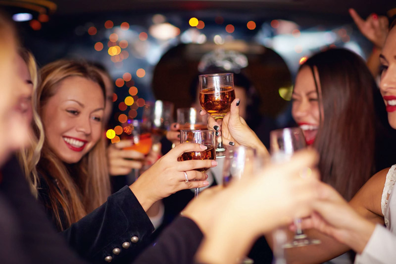 corporate parties office parties christmas party limousine party bus